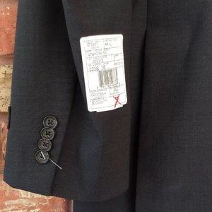 Jack Victor Suits & Blazers - Jack Victor 44L Dark Gray Wool Suit Jacket Blazer